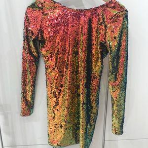 Motel Rocks sequin party dress